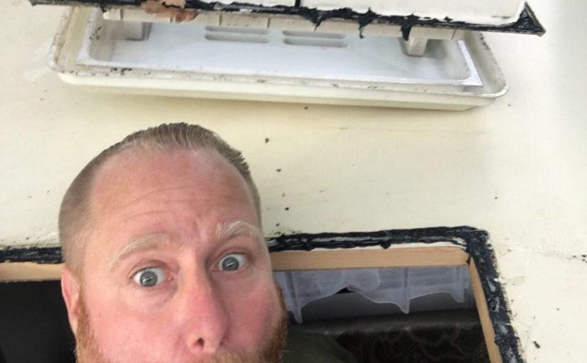 Eine neue Dachluke muß her….