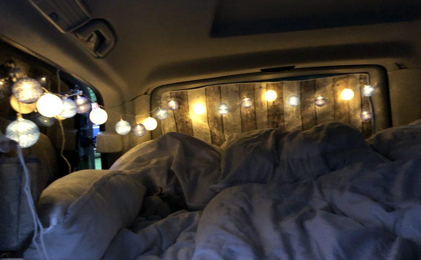 Ein Bett für unseren Viano